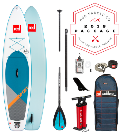 Red Paddle Co Ride 2019 Inflatable Paddle Board 11'0 Sport Alloy