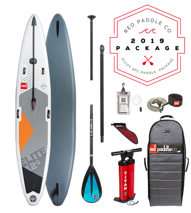 Red Paddle Co Ride 2019 Inflatable Paddle Board 12'6 Elite Alloy