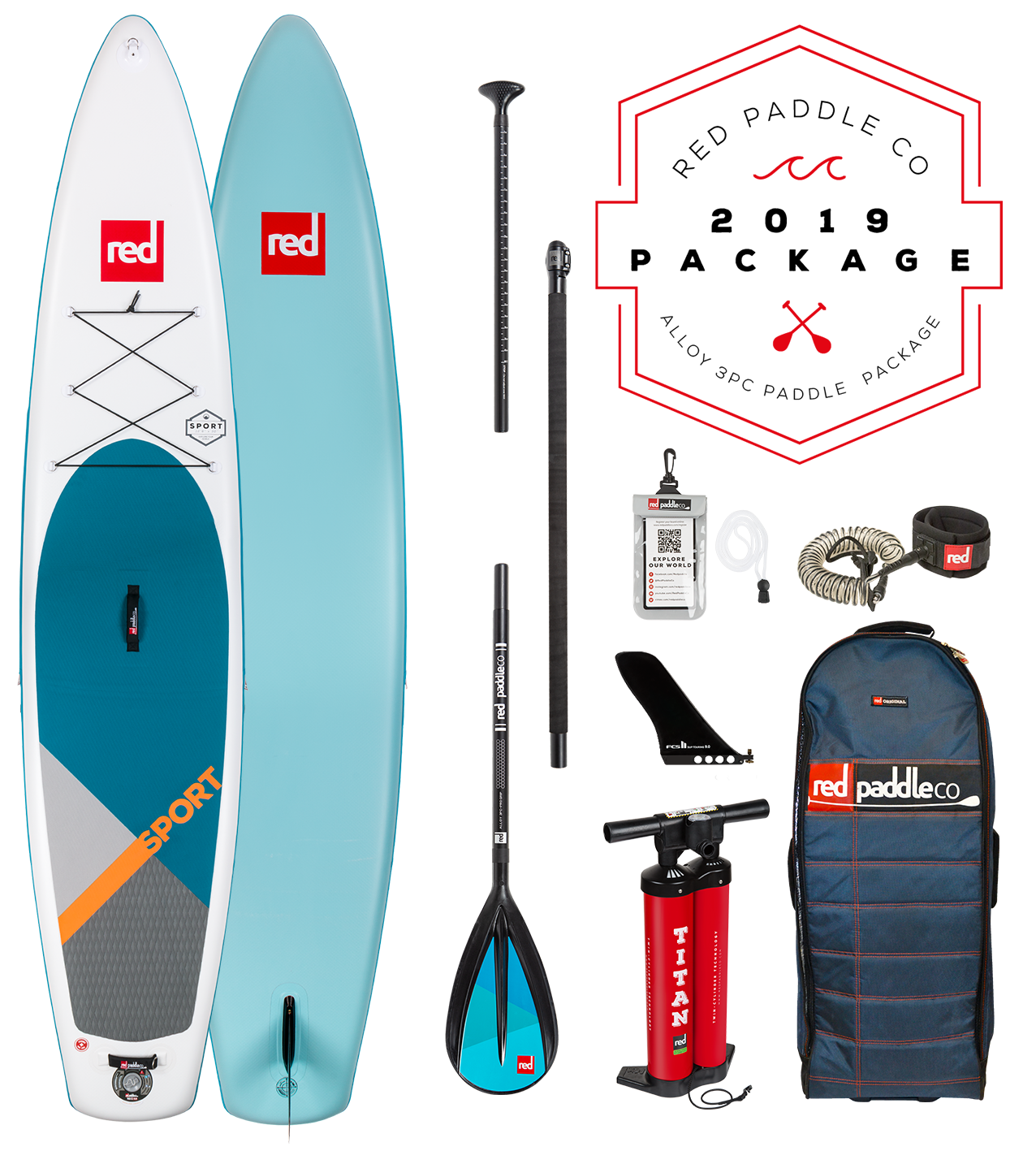 4c77ded69e5cc9 Red Paddle Co Ride 2019 Inflatable Paddle Board 12 6 Sport Alloy