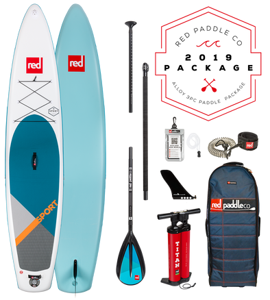 Red Paddle Co Ride 2019 Inflatable Paddle Board 12'6 Sport Alloy