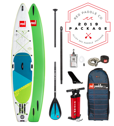 Red Paddle Co Ride 2019 Inflatable Paddle Board 12'6 Voyager