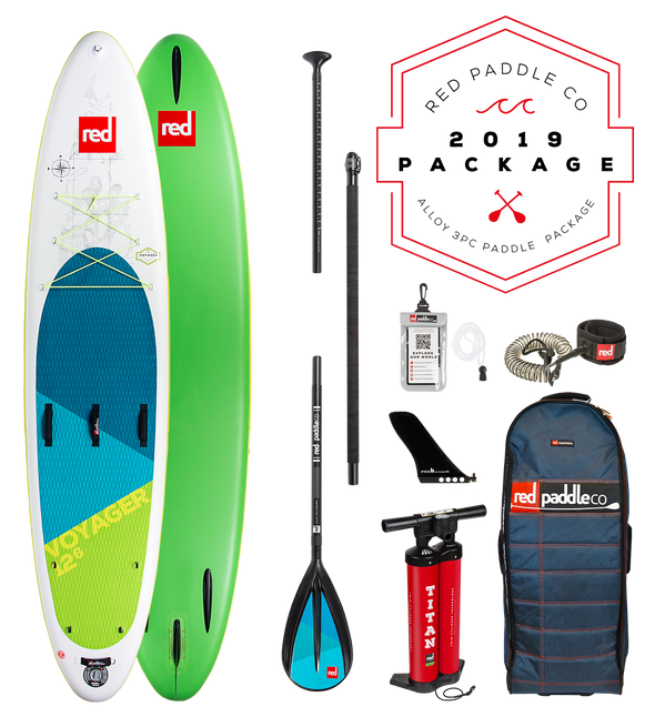 Red Paddle Co Ride 2019 Inflatable Paddle Board 13'2 Voyager