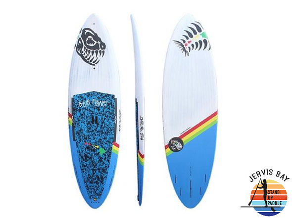 "Blue Planet North Shore 8'10"" x 29"" x 4"" x 116L Ninja Warrior"