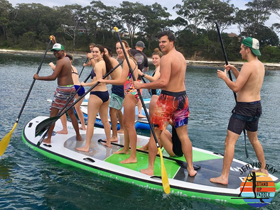 Monster Stand Up Paddle Tour