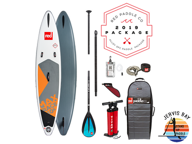 Red Paddle Co Ride 2019 Inflatable Paddle Board 10'6 Max Race Alloy