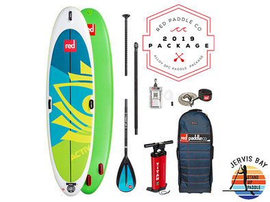 Red Paddle Co Ride 2019 Inflatable Paddle Board 10'8 Activ Alloy