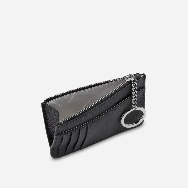 Leather Zippered Wallet
