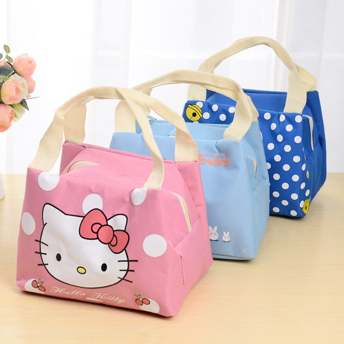 1PCS Cartoon Lunch Bag Reusable Picnic Food Bags