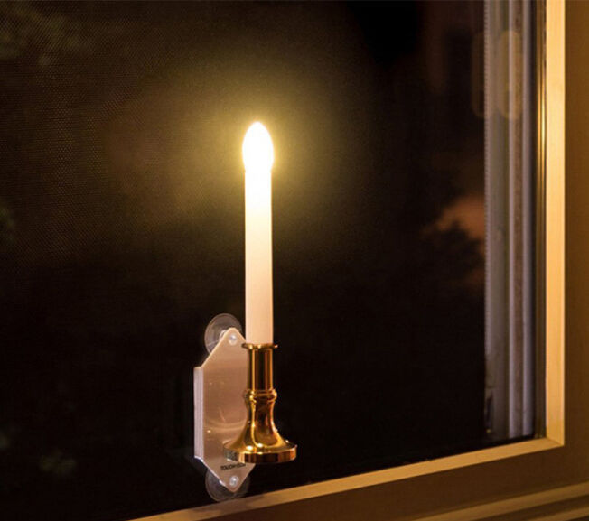 Outdoor Solar Candle Light Lamp