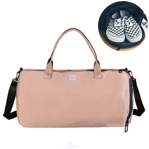 Canvas Women's Travel Bags Yoga