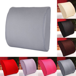 Memory Foam Breathable Healthcare Lumbar Cushion