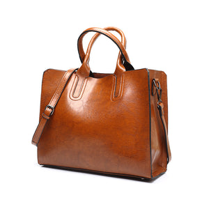 Tagdot Brand Large Tote bags PU leather Fashion