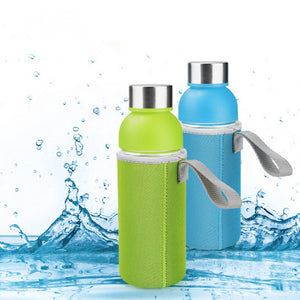 Water Bottles Stainless Steel Lid with Rope Child Series