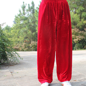 Martial Arts Pants Bloomers Winter Yoga Pants