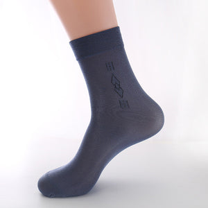 5 Pairs Men Sock High Quality Business Casual