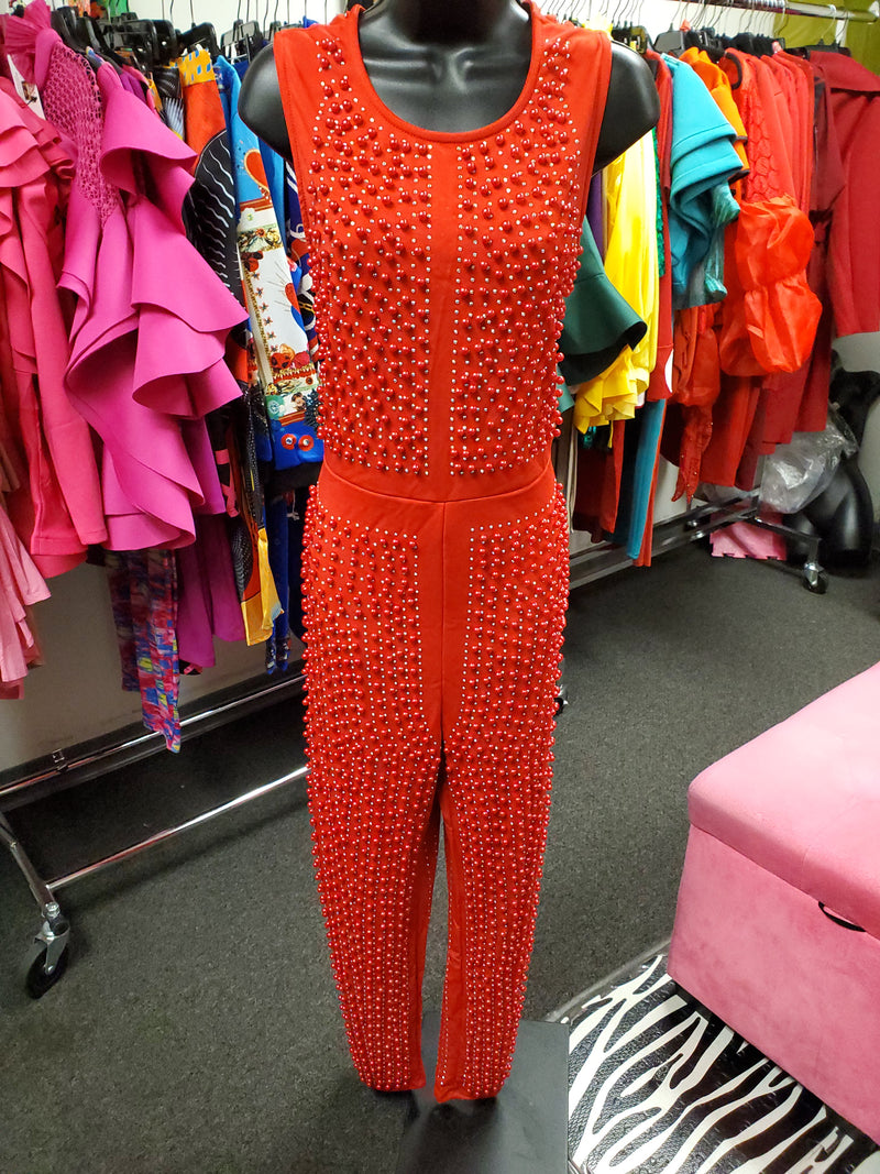 Bling Pearl Jumpsuit