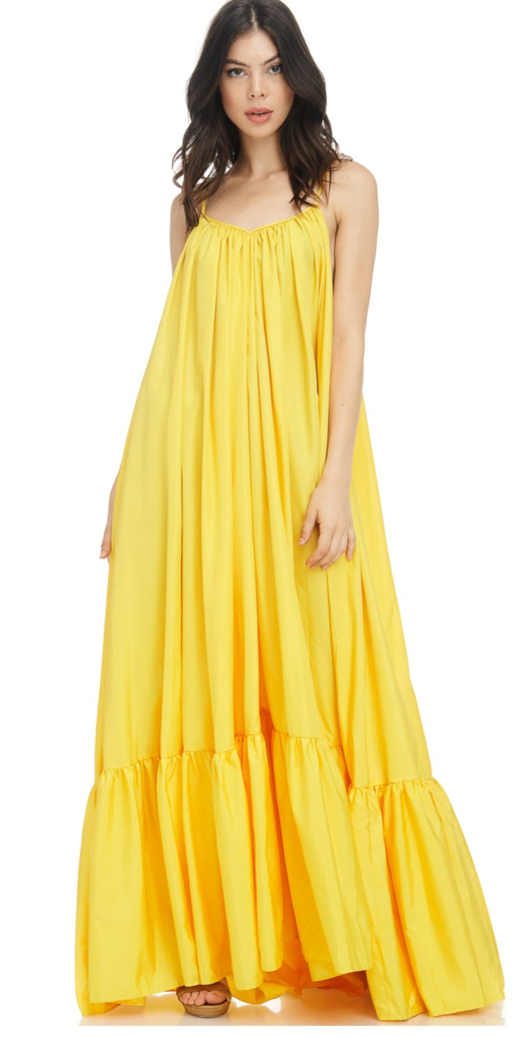 """Sunshine"" Maxi Dresses"