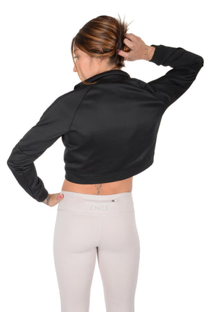Ence Track Jacket - Black