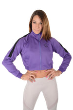 Ence Track Jacket - Purple/Black