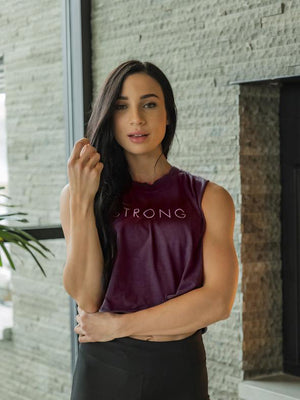 Strong Crop Tank - Style 1