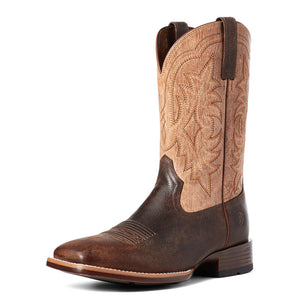10035927 Ariat Men's Ryden Ultra Dark Roast/Weathered Pebble