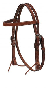 13591 Showman Western Bridle w/ reins Mini/Small Pony