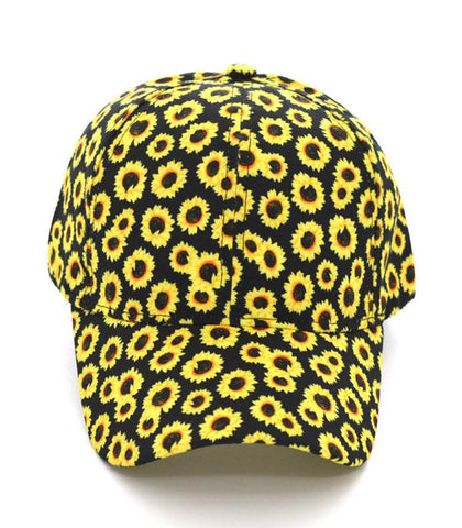 FCP088YLBL Sunflower Cap