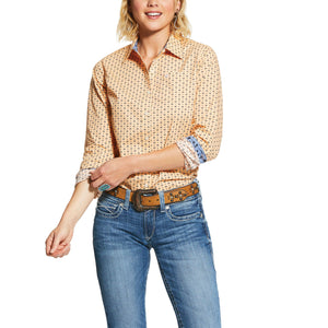 10030654 Ariat Women's Kirby Arizona Peach Shirt