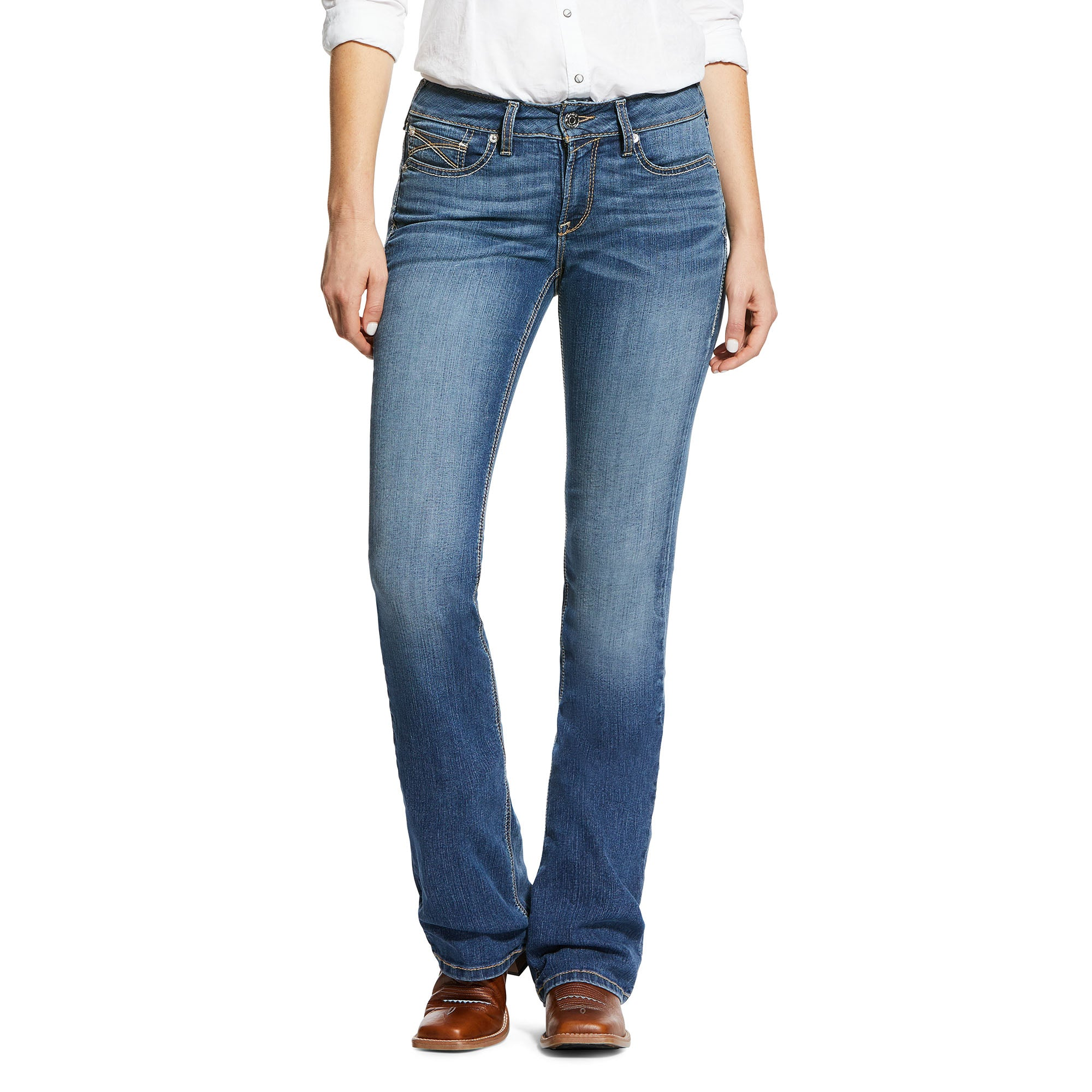 10032302 Ariat Women's Stevie Perfect Rise  Long
