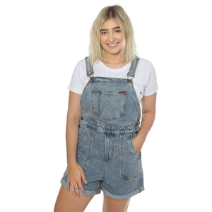 219234551-MEB Ringers Western Gabbie Womens Overall Shorts