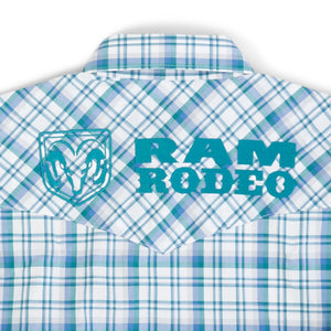 MP1337M Wrangler Men's RAM RODEO L/S Shirt