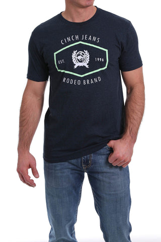 MTT1690383-HNV Cinch Mens Tee Navy