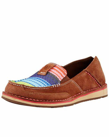 10018587 Ariat Women's Cruiser Palm Brown/Serape Mesh
