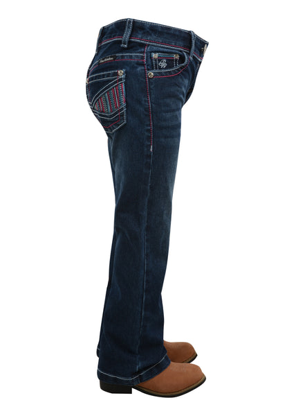 PCP5201422 Pure Western Girls Julie Boot Cut Jean