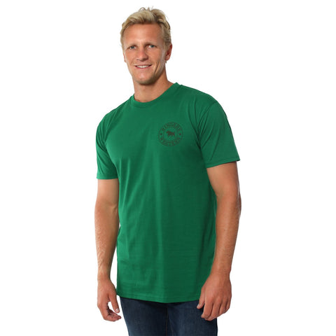 120003RW- GN/DGN Ringers Western Men's Original Fit Tee Green