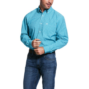 10031048 Ariat Men's Pro Vernell Fitted L/S Shirt
