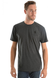 TCP1516033 Thomas Cook Men's Logo Tee Charcoal