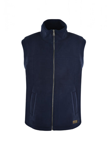 TCP1615005 Dux Bak Men's Pacific Bonded Fleece Vest Navy
