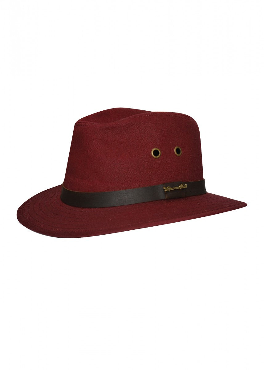 TCP1962408 Thomas Cook Oilskin Hat RED