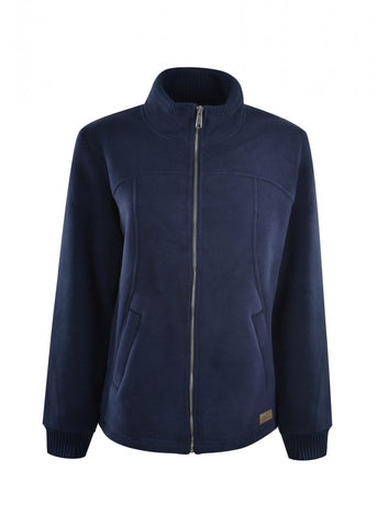 TCP2725005 Dux Bak Women's Pacific Fleece Bonded Jacket Navy