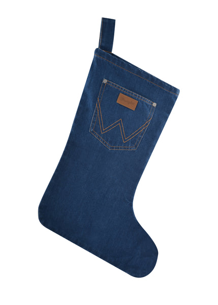 X0S2914STK Wrangler Denim Christmas Stocking