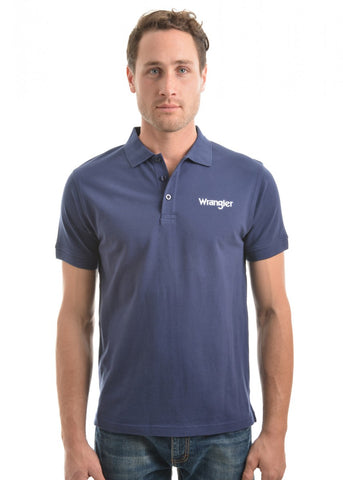 XCP1566368 Wrangler Men's Benson Polo Navy