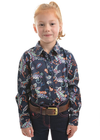 T9W5109051  Thomas Cook Girls Ellane Print L/S Shirt