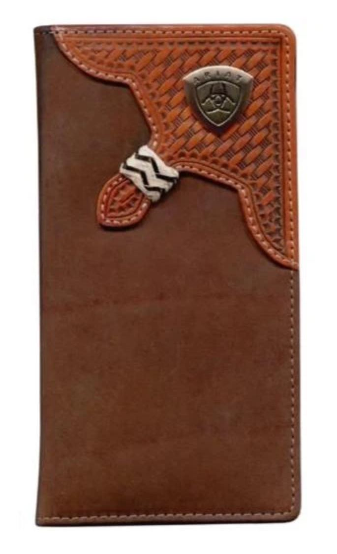WLT1111A Ariat Rodeo Wallet Brown