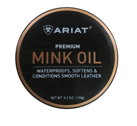 A27010 Premium Ariat Mink Oil 130g