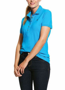 10030478 Ariat Womens Prix 2.0 SS Polo Nautilus