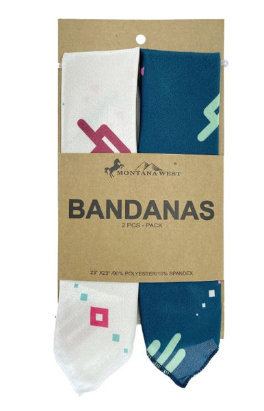 X002J71JNX  Montana West Bandana Set cream/Green