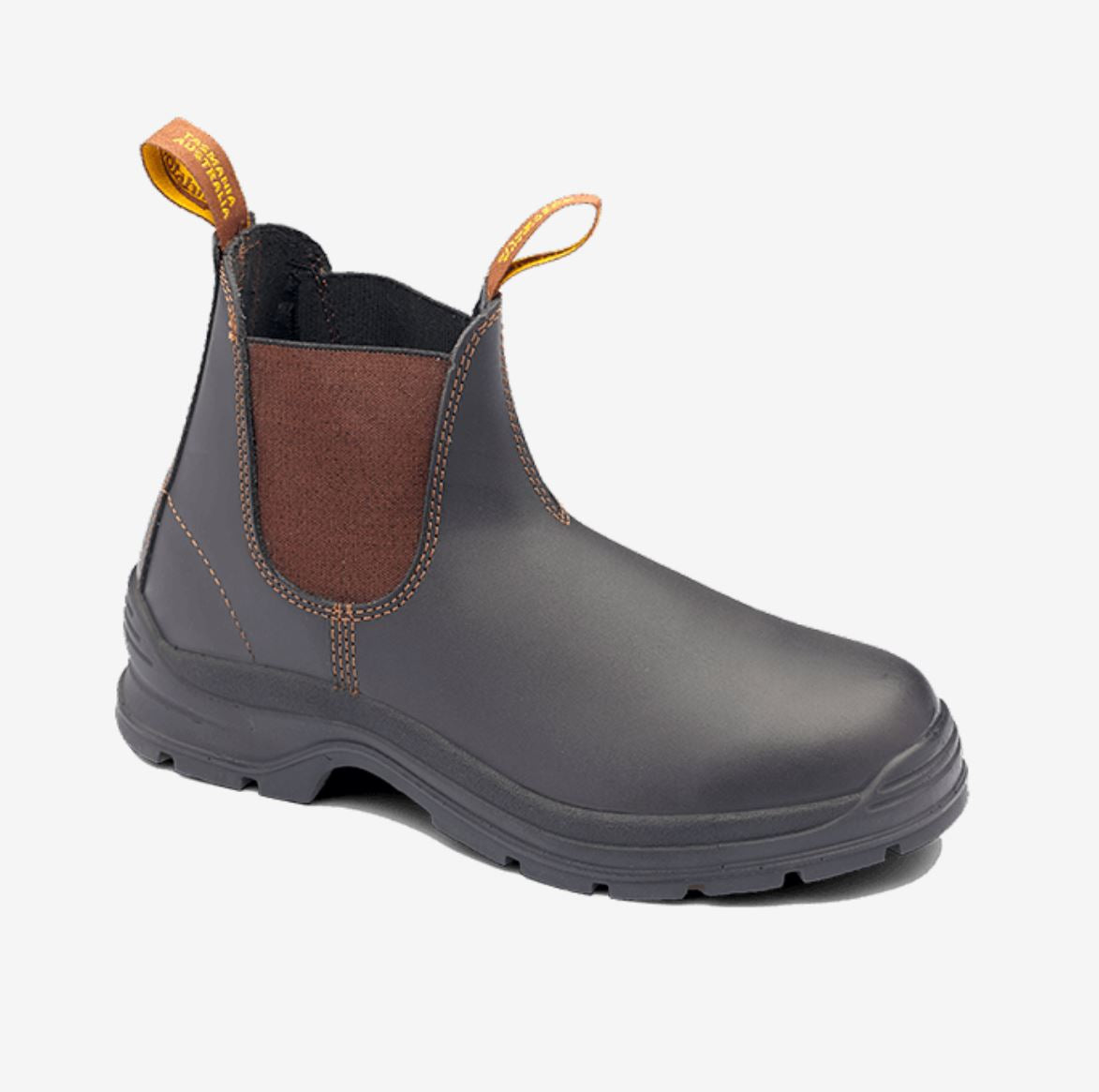 405 Blundstone Non Safety Boot Brown Waxy