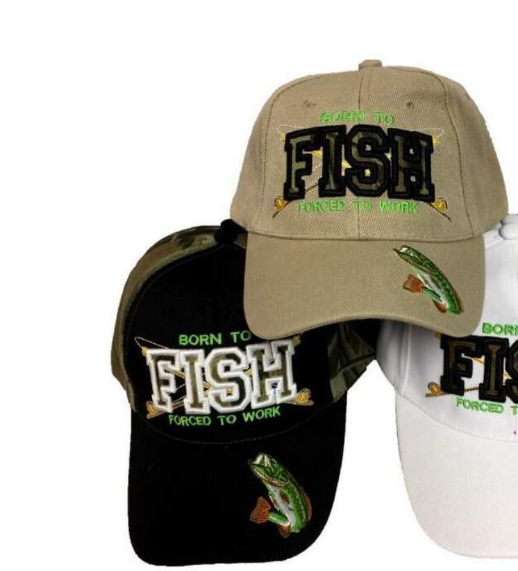 HT-562 Born to fish Forced to Work Cap