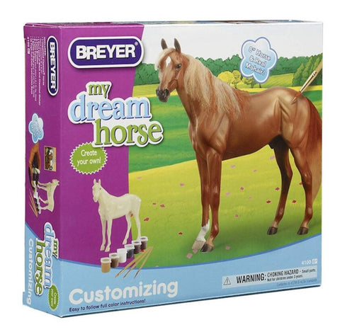 4100 Breyer Customizing Thoroughbred Paint Kit
